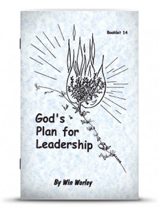God's Plan For Leadership - Worley
